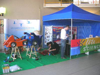 Stand e-Kart - Hall Tours