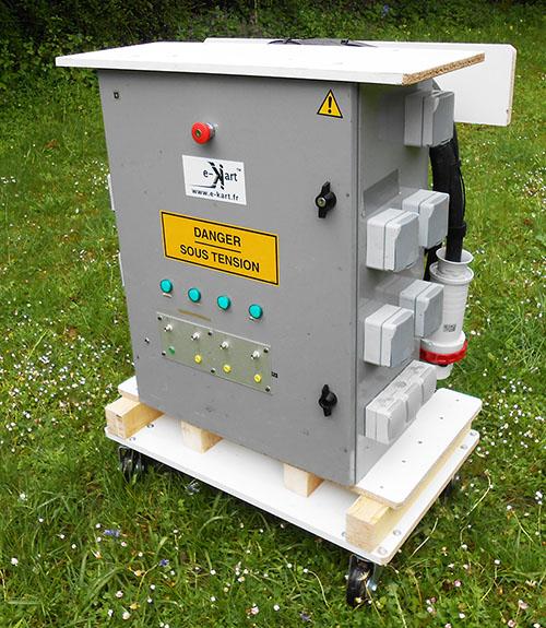 L 39 armoire de distribution lectrique 125a triphas e - Cablage armoire electrique triphase ...
