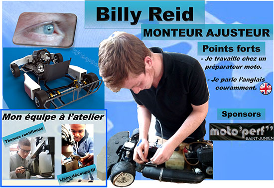 e-Kart 2017 24h Chrono - Billy, monteur aujusteur