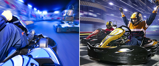 You can now ride electric go karts in The Dubai Mall