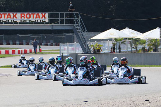 Rotax E-Kart Project E20 for the first time in the program at the Rotax Max Euro Trophy in Wackersdorf