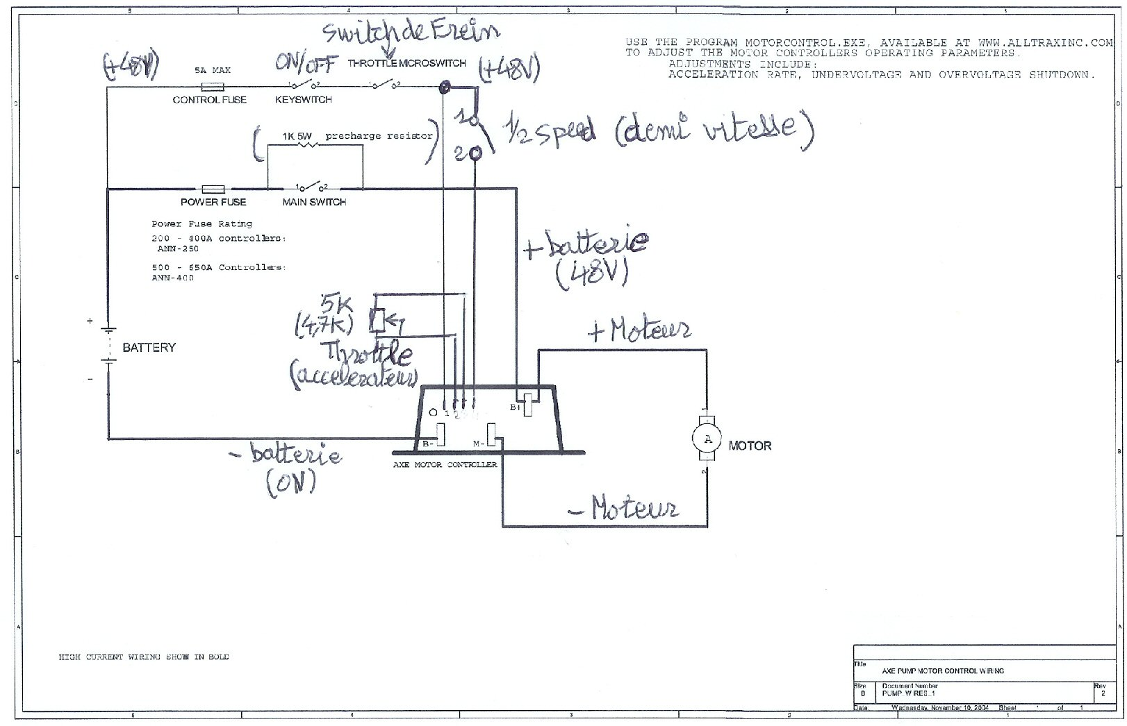 Controller Alltrax Xct Wiring Diagram. . Wiring Diagram on